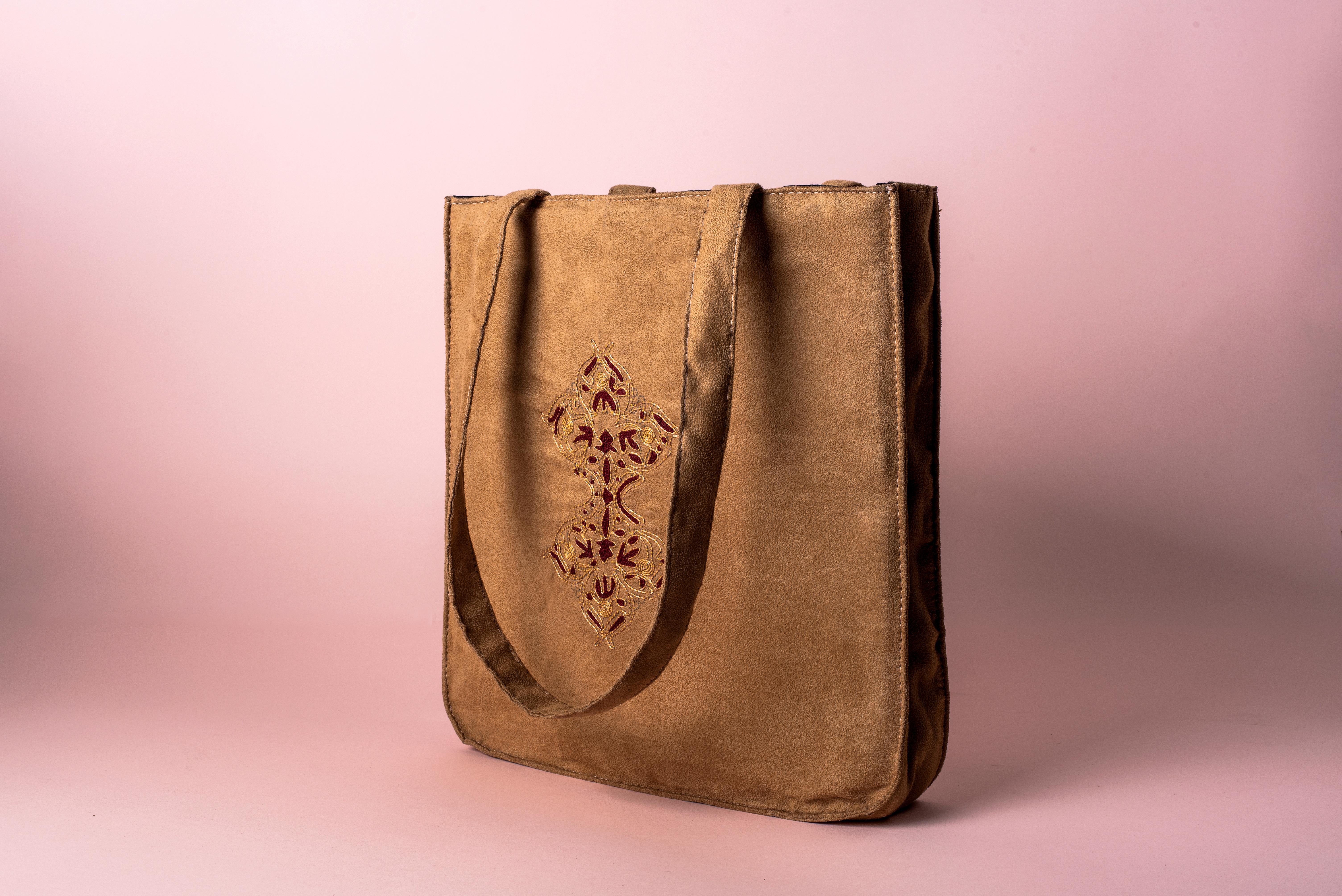 Tote Bag (Suede)